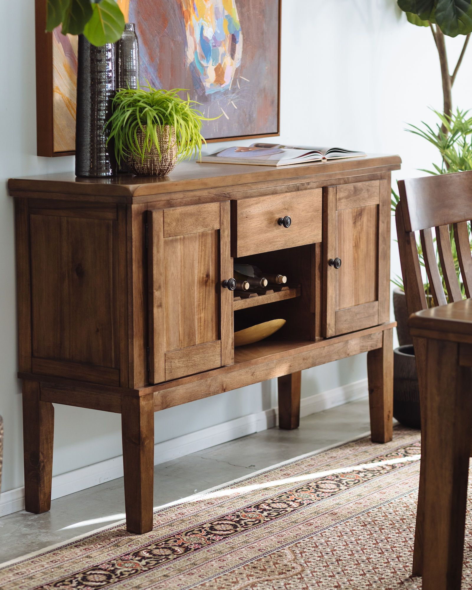 Casual Dining Room Buffet Decorating Ideas: Dining Room Server, Casual