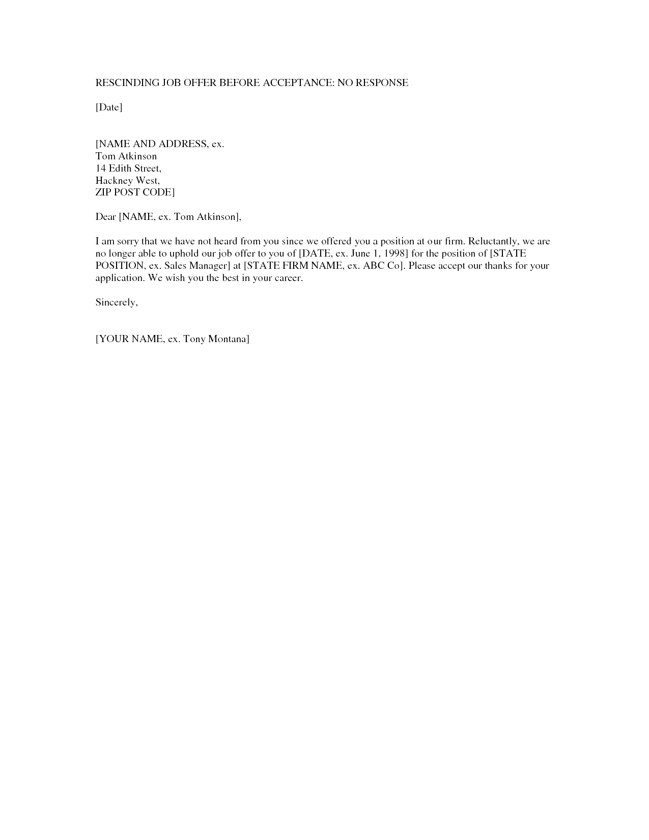 Rescinding An Accepted Job Offer Sample Letter from i.pinimg.com