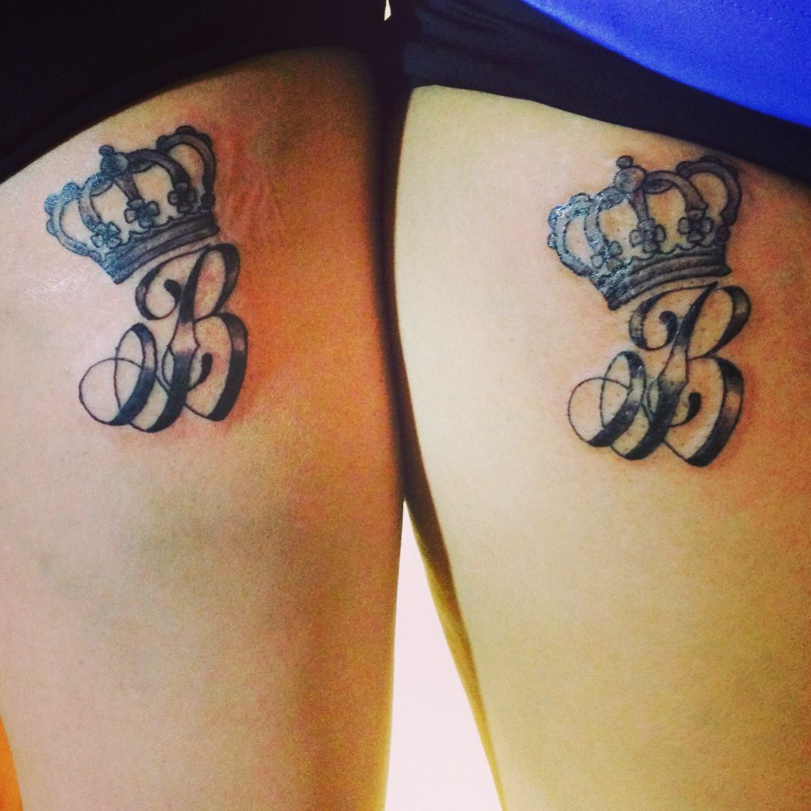 You can call me queen B... #newtat #tattoo #ink #crown #b ...