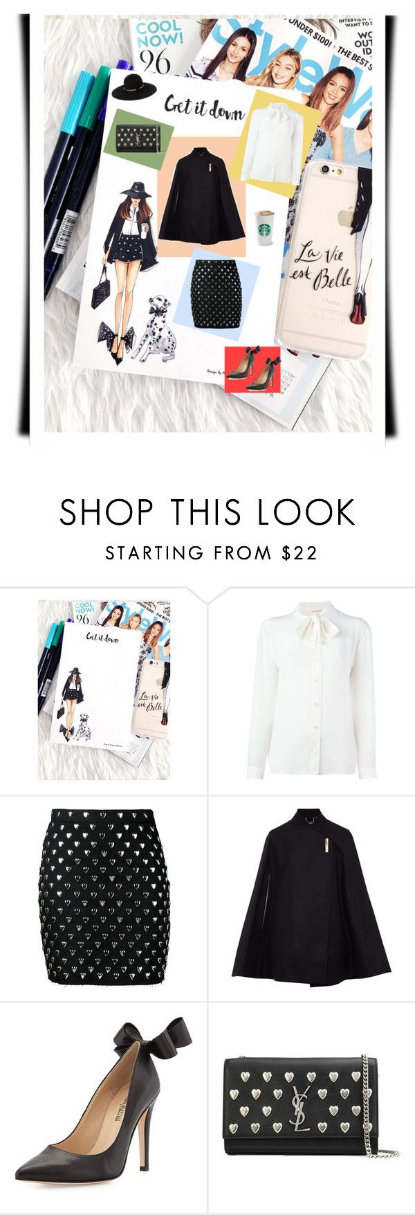 """""""Get it down"""" by anna17682 on Polyvore featuring Yves Saint Laurent, Ted Baker, Neiman Marcus e Eugenia Kim"""