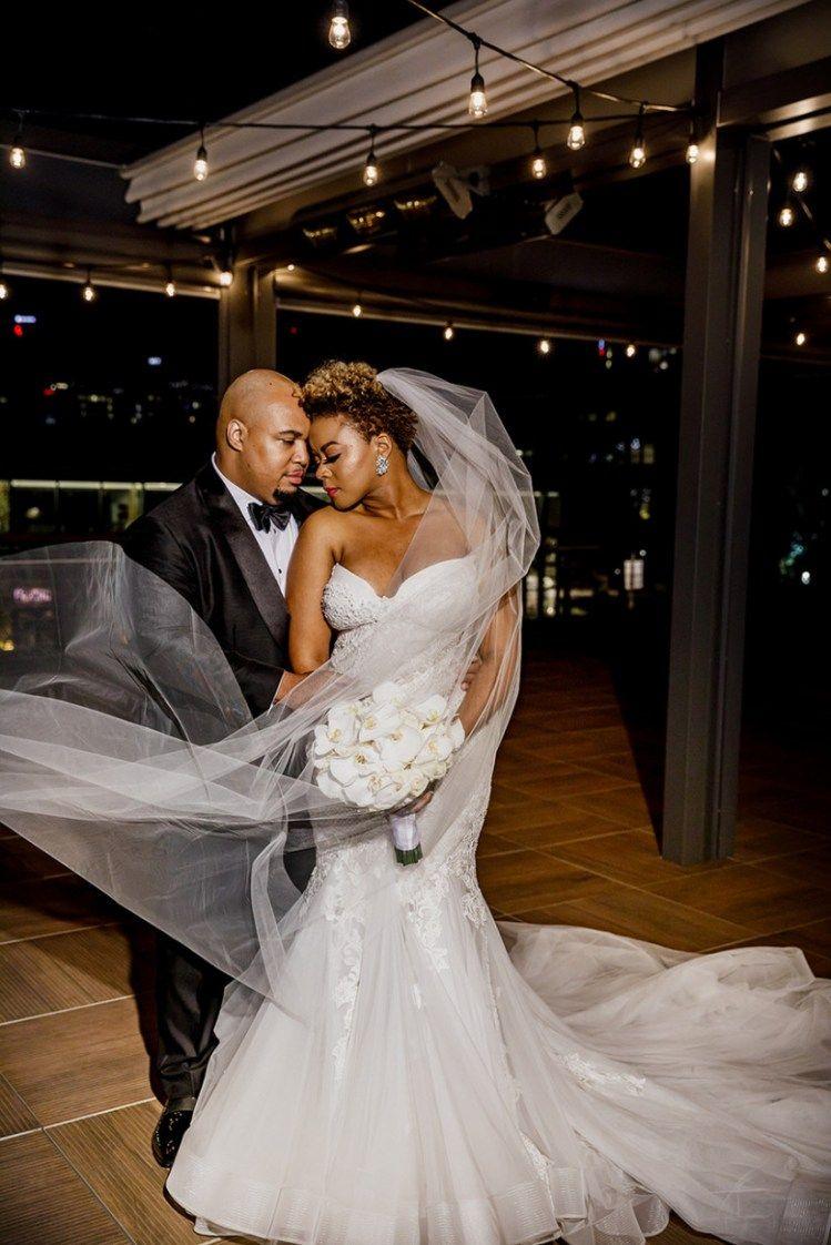 16 Modern Wedding Hairstyles For Black Brides Backless Mermaid