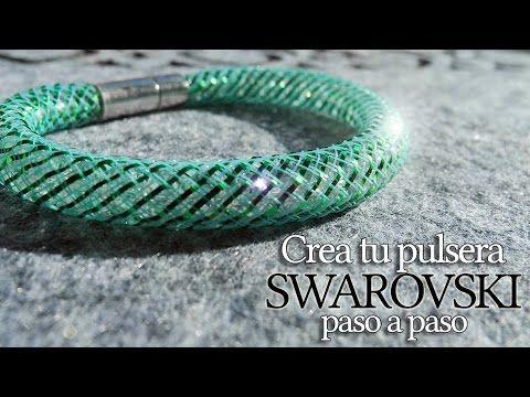 Pulseras de swarovski tutoriales