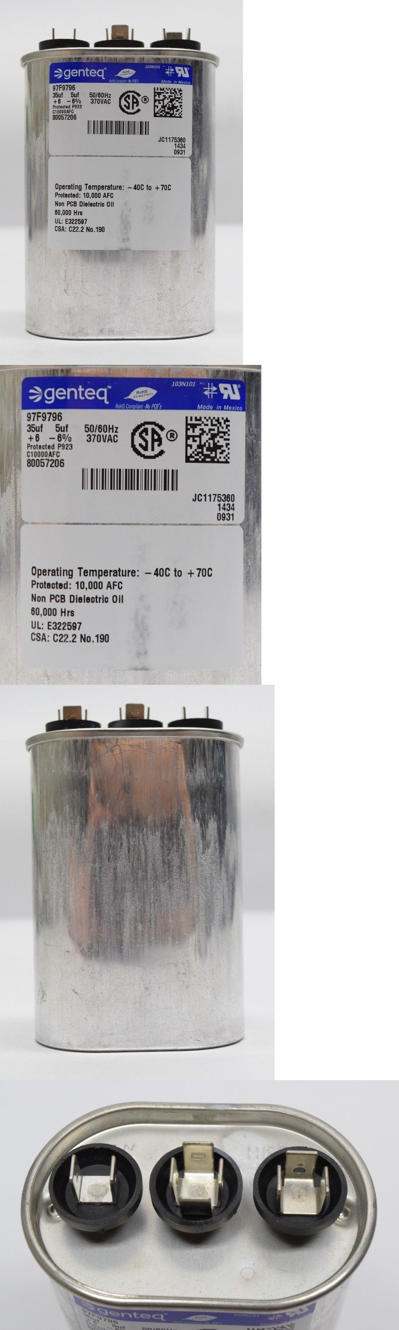 Central Air Conditioners 185108 Packard Pocd355 35 + 5 Uf