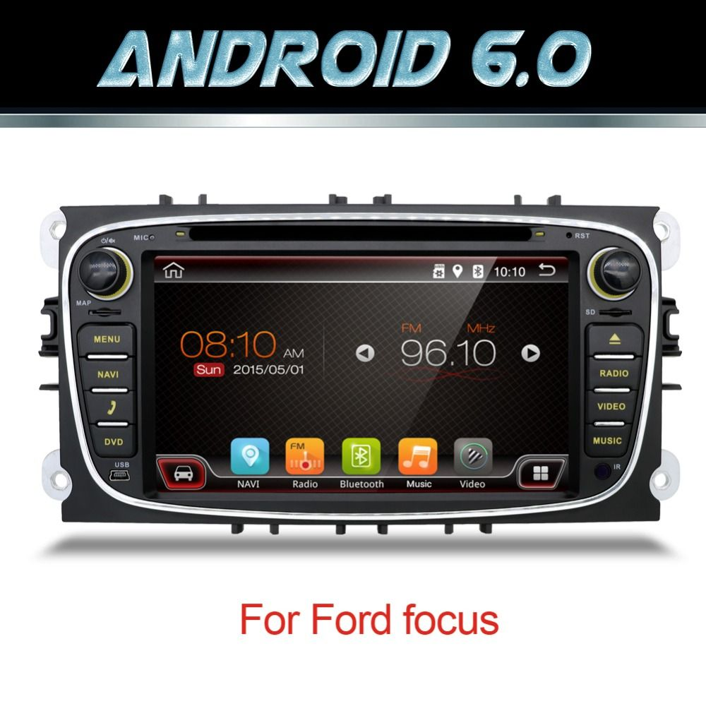 7 Android 5 1 Car Radio Dvd For Ford Focus S Max Mondeo C Max