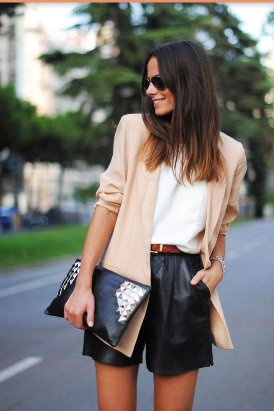High waisted short outfits for girls 8