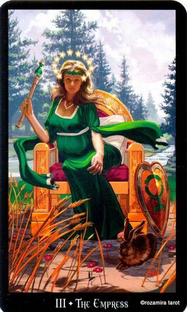 III - L'impératrice - Tarot sorcières par Ellen Dugan & Mark Evans
