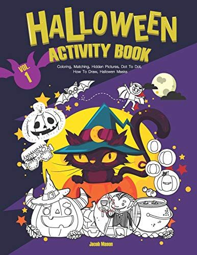 Halloween 2020 Novelization Mobilism DOWNLOAD PDF] Halloween Activity Book VOL1 Coloring Matching