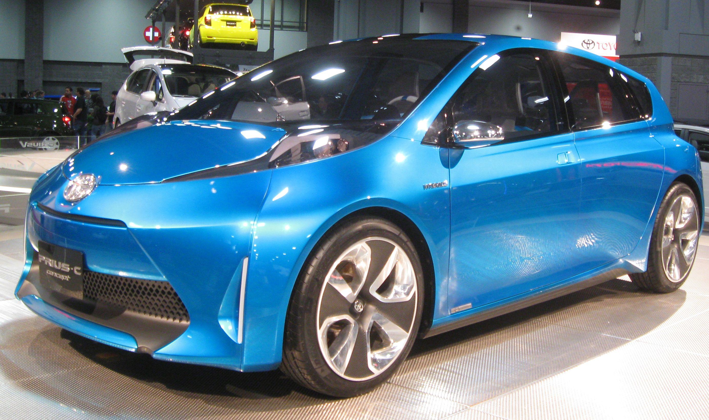 Toyota Prius History Concept Toyota Prius Prius Toyota