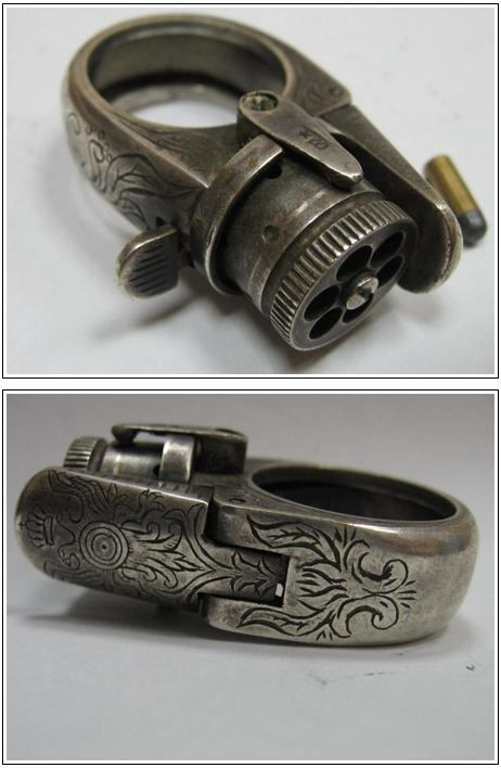 Pistol Ring For Real How Awesome