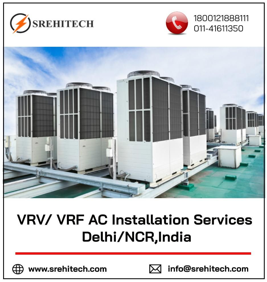 We are involved in offering VRV/ VRF AC Installation Services in