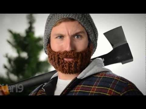 La barba (tejida) está de moda | Pinterest | La barba, Gorros y Ponchos