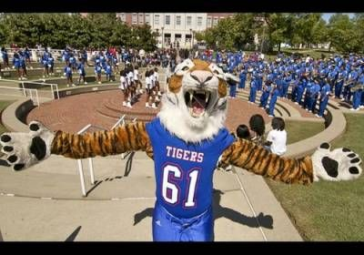 Tennessee State Tigers Mascot Aristocat The Tiger Tennessee