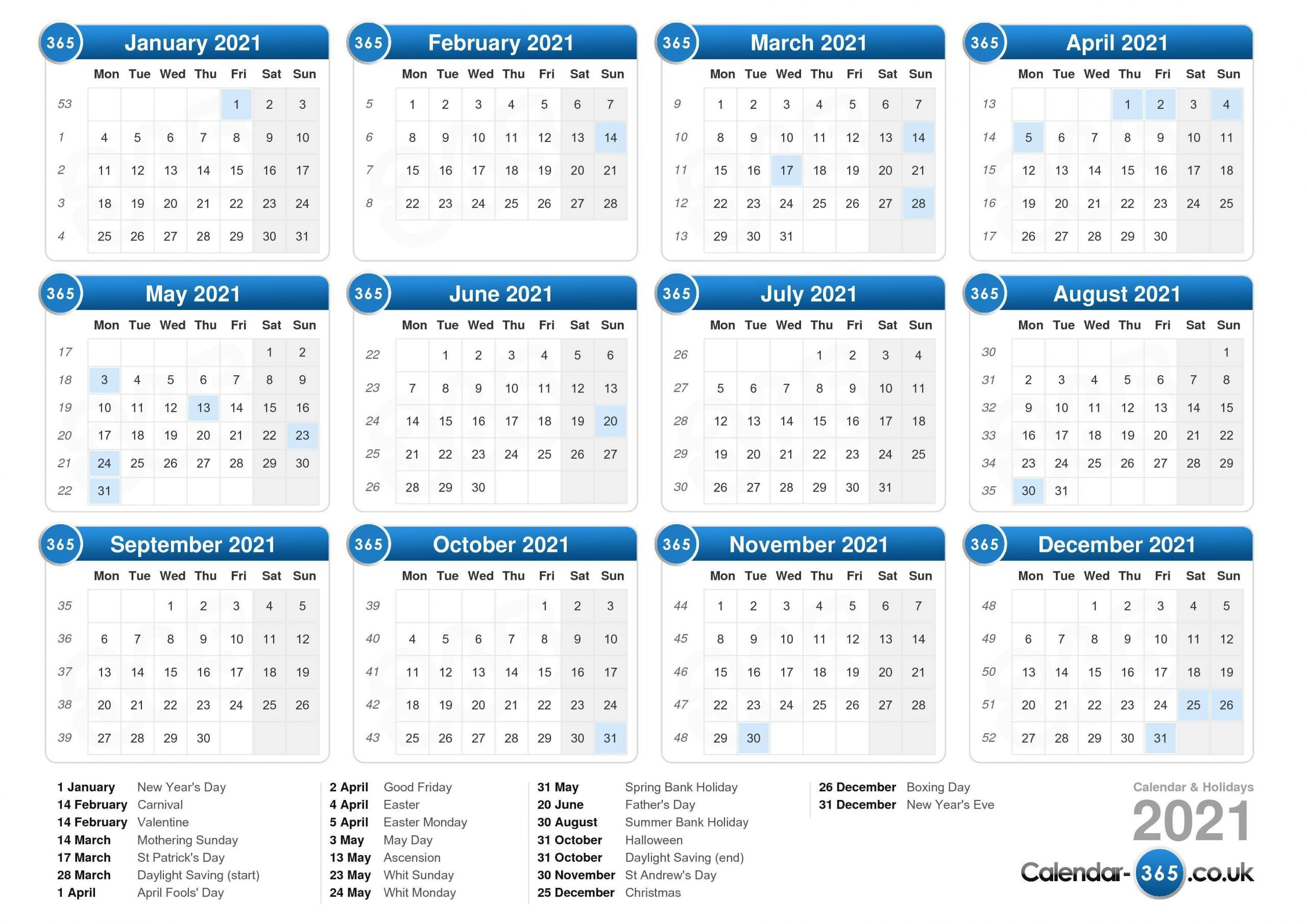 January February 2021 Calendar Uk In 2020 Printable Calendar Print Calendar Calendar Printables