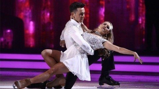 Ray Quinn Maria Filippov Dancing on Ice