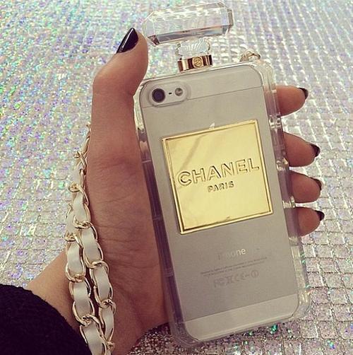 CHANEL 'Perfume Bottle' Case …