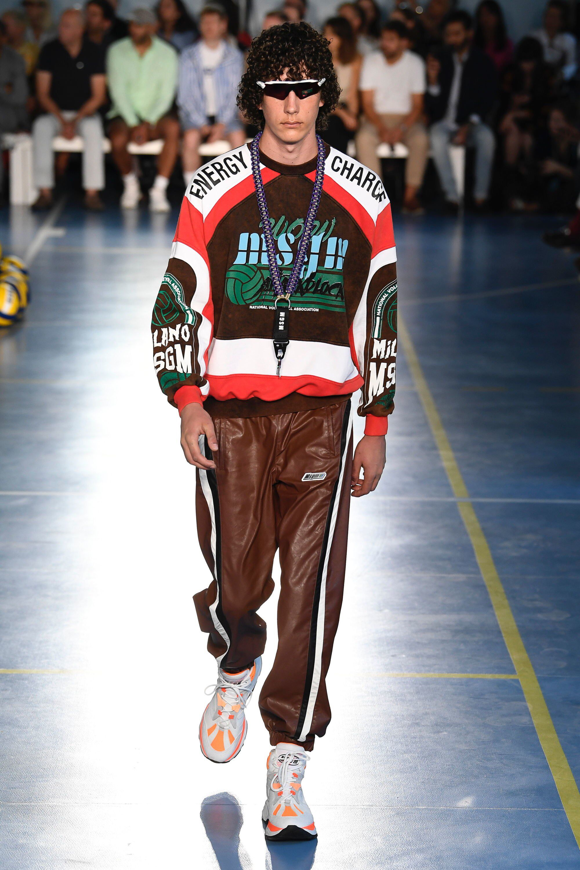 MSGM Spring 2019 Menswear Fashion Show Collection See the
