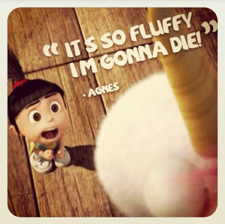 Despicable Me Agnes Quote