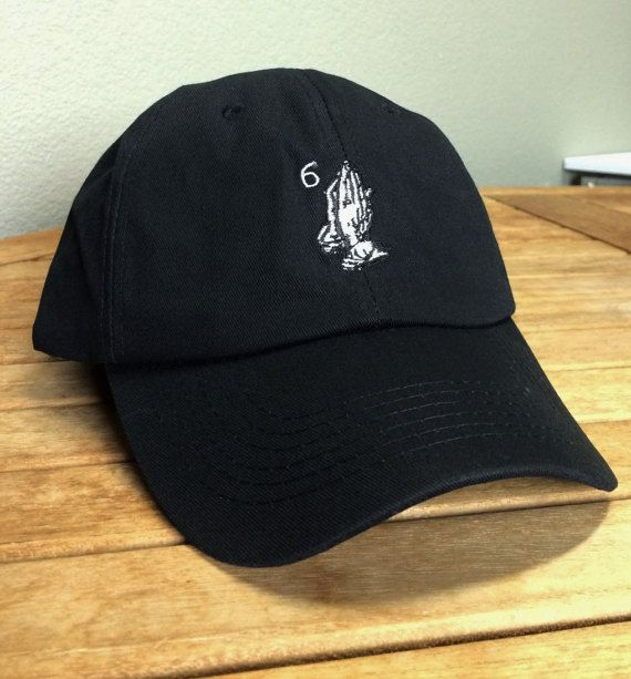 e2b100c36c4ba3 Drake 6 God black hat strapback drizzy supreme bape by VHSTAPES ...