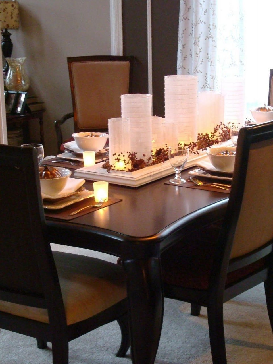 10 Best Dining Room Table Centerpieces Ideas Get Ideas Dining Room Table Centerpieces Dining Room Centerpiece Dining Room Table Decor