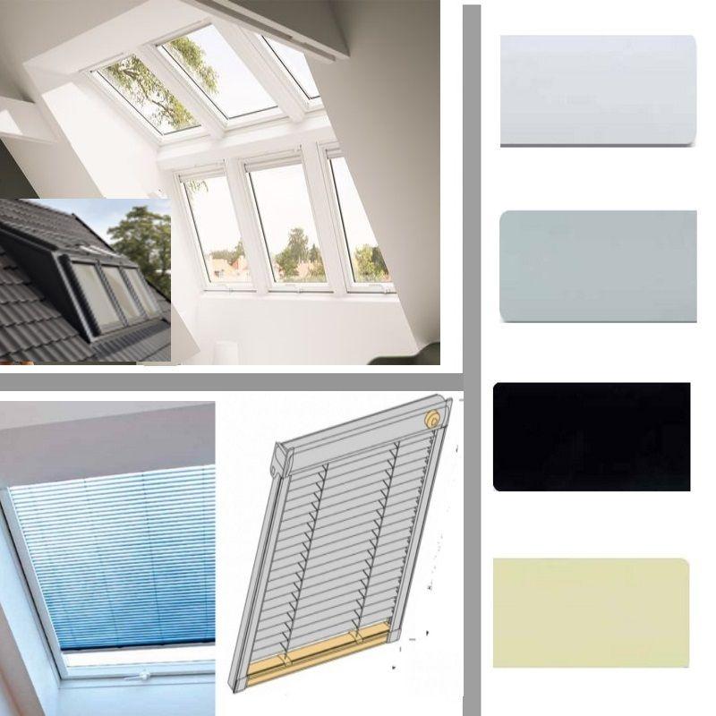 Skyline Jalousie Gezielte Lichtsteuerung Fur Velux Panorama Fenster Geniessen Sie Die Freie Sicht Durch Ihr Velux Pano Panorama Fenster Dachfenster Jalousien