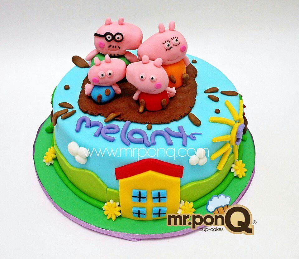Torta peppa pig. Mr.ponQ