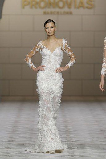 Wedding Magazine - Barcelona Bridal Week: Pronovias 2015 wedding dresses