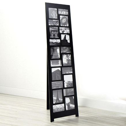 nexxt nisse standing floor collage picture frame for seating plan