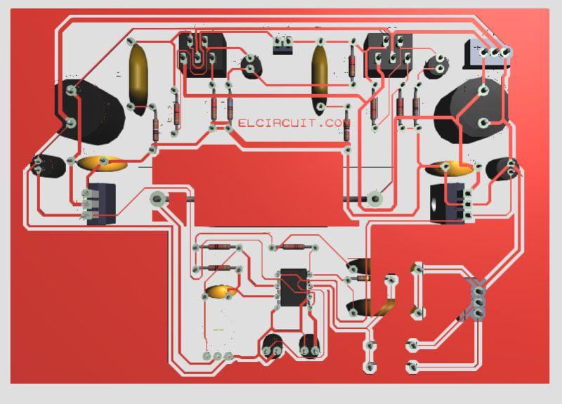 Tda2030 Make For Subwoofer Amplifier Circuit Rg Pinterest