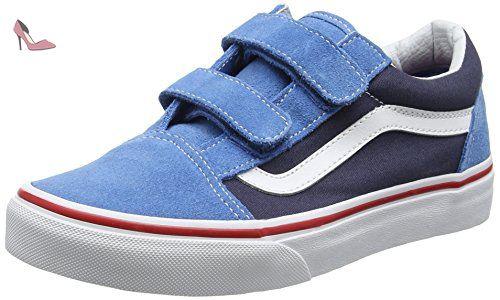 chaussure vans enfant garcon bleu