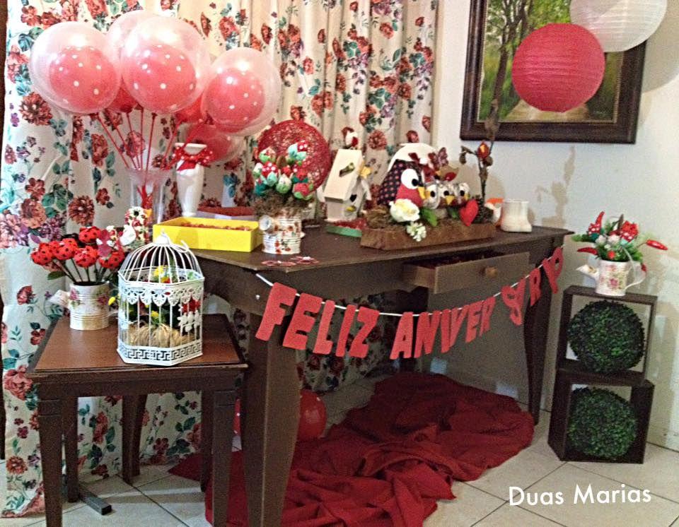 Decoração Festa Infantil Corujas Rústico #DuasMariasEventos