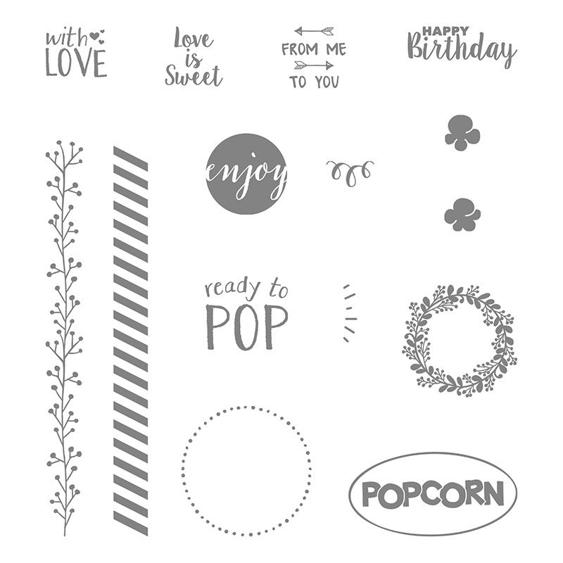 Ready to Pop Photopolymer Stamp Set by Stampin' Up! | Ready to pop ...