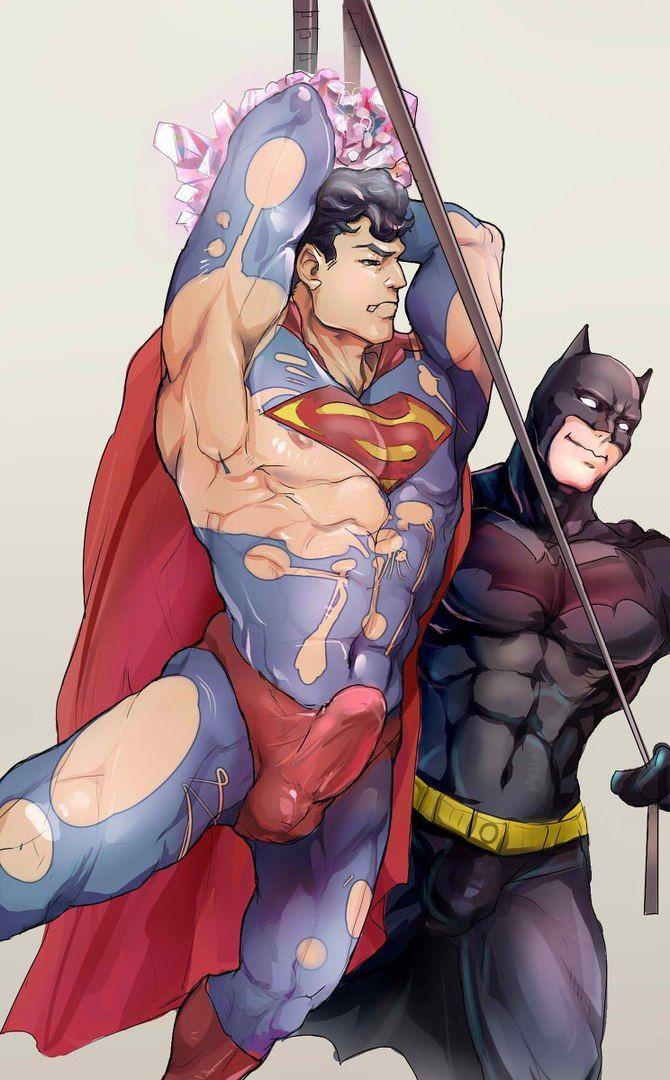 gay yaoi Batman cartoon