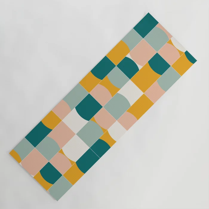Buy Vivid Tiles 01 #yogamat by #designdn #Worldwide #shipping #society6 #pattern available at society6.com/designdn Just one of millions of high quality products available. #shopping #buyart #gradgift #giftideas #gym #yoga #outdoor #lifestyle #meditation #patterndesign #findyourthing #walltiles #bold #geometric #midmod