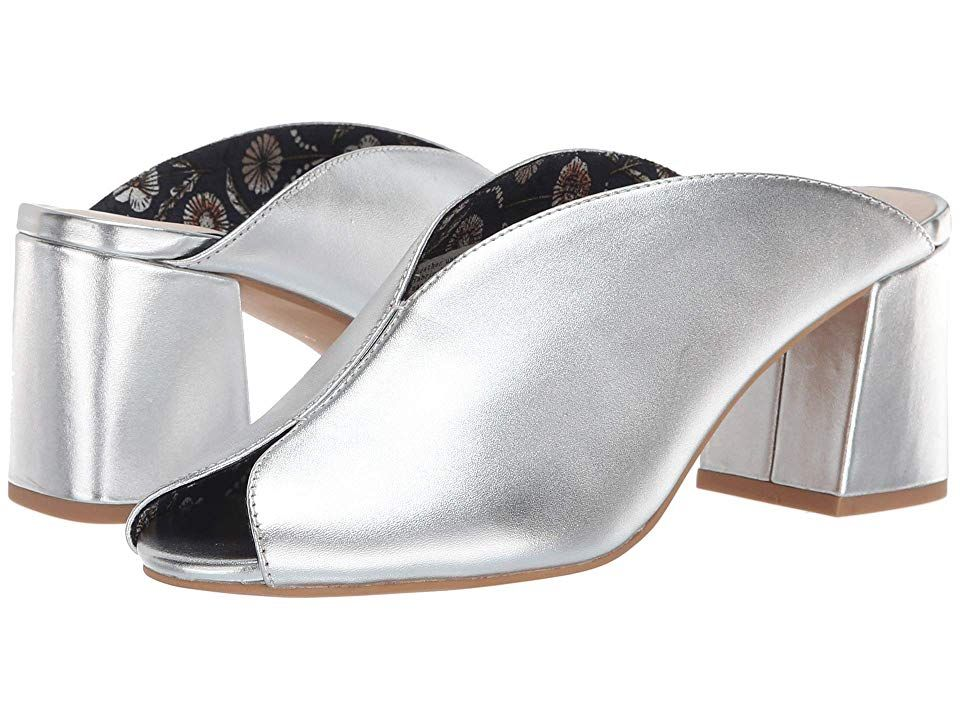 b7c941008f0b Seychelles By The Beach II Slide (Silver) Women s Clog Mule Shoes. Make