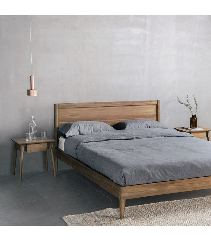 Vintage Bed Frame in 2020 | Vintage bed frame, Boho bed ... on Modern Boho Bed Frame  id=58441