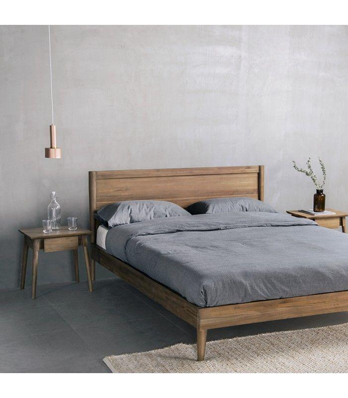 Vintage Bed Frame in 2020   Vintage bed frame, Boho bed ... on Modern Boho Bed Frame  id=58441