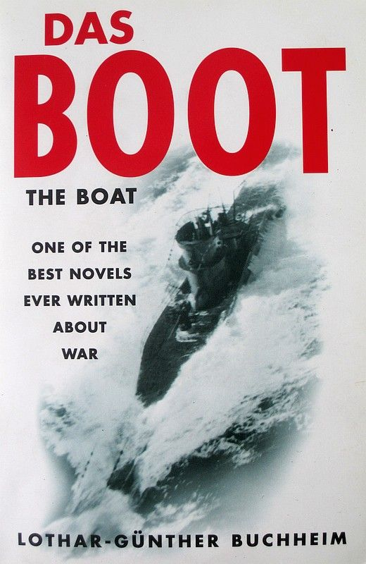 Das Boot, the novel (front cover).