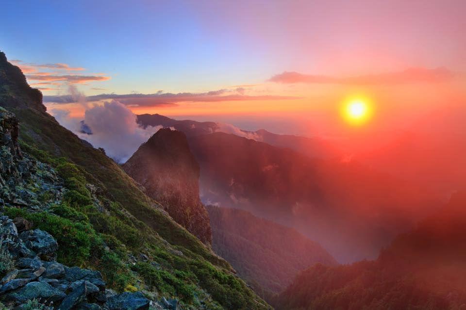 #聖稜線 from #台灣百岳之美 #sunset