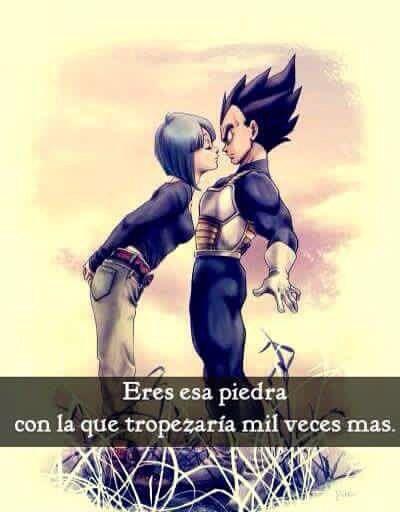 Bulma Vegeta Amor Y Frases Pinterest Dragon Ball Bulma