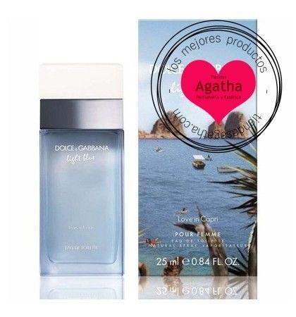29da378fb68f4 Dolce   Gabbana Light Blue Love in Capri pour Femme Edt 50 ml. Dolce   Gabbana  Light Blue Love in Capri pour Femme Eau de Toilette 50 ml es la nueva ...