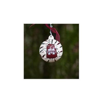 Glory Haus Mississippi State Cowbell Ball Ornament Cowbell, Mississippi  State, Christmas Ornaments, Santa - Glory Haus Mississippi State Cowbell Ball Ornament Mississippi