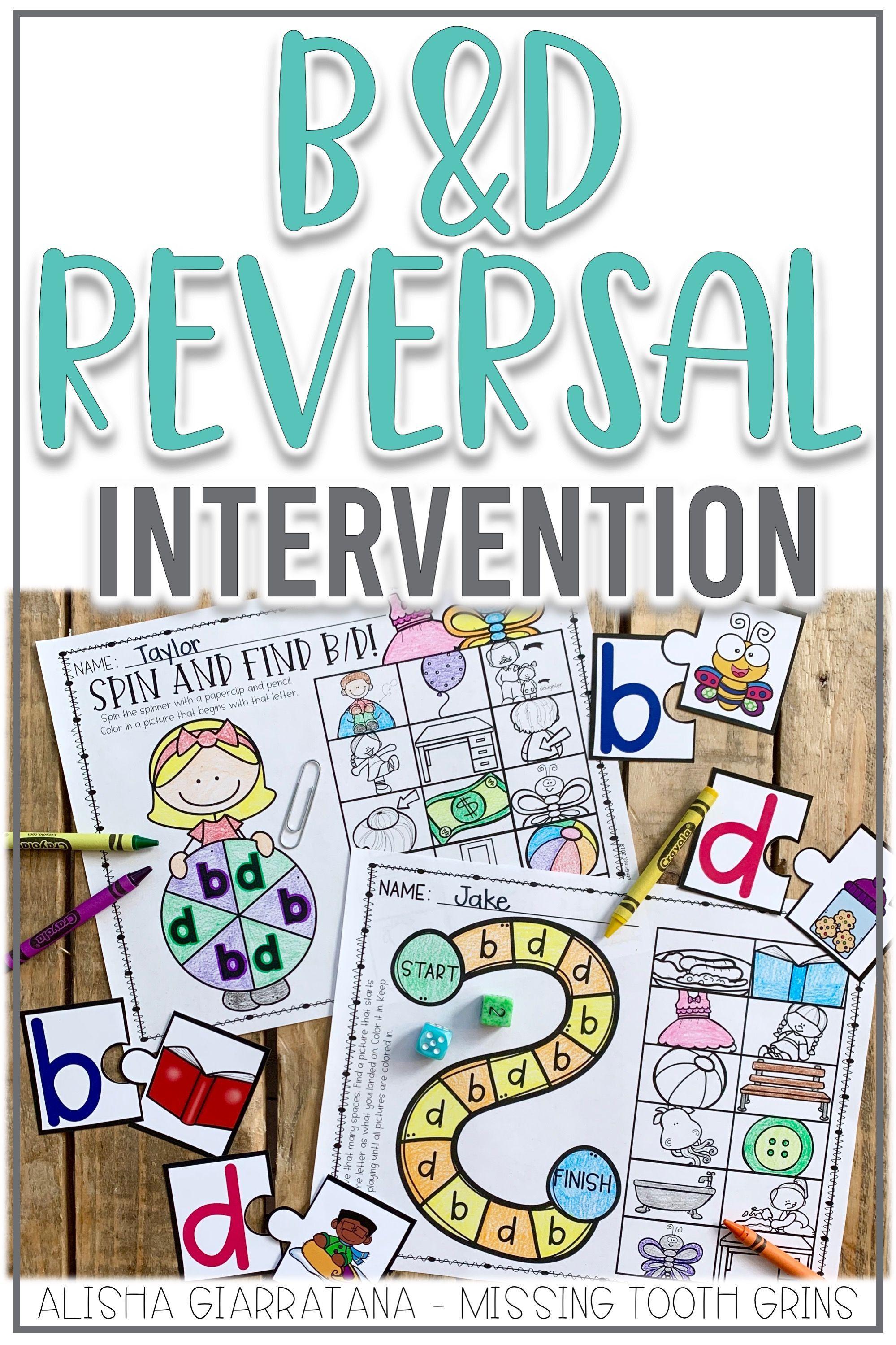 B And D Reversal Activities