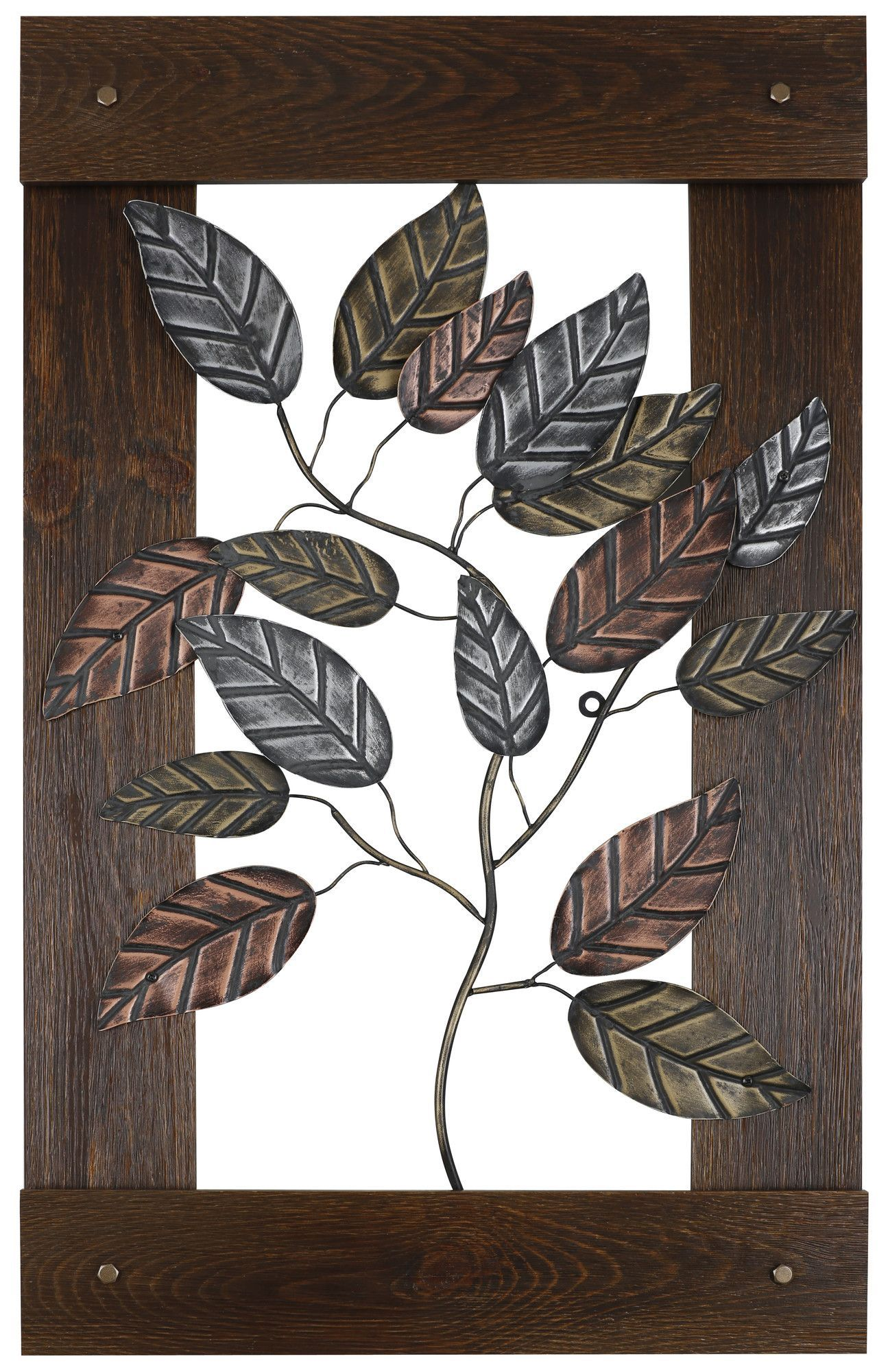 Metal leaves wall decor house stuff pinterest wall decor wall