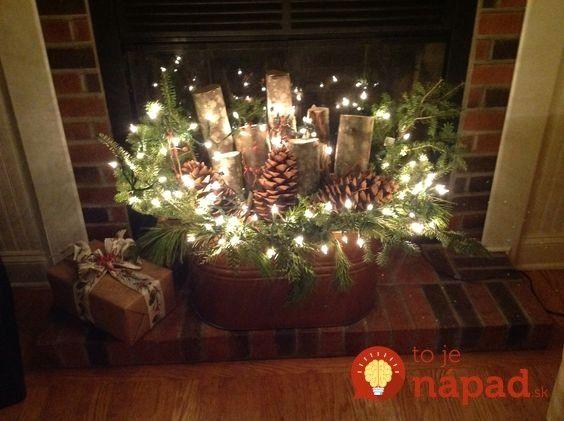Photo of DIY Christmas Fireplace Design