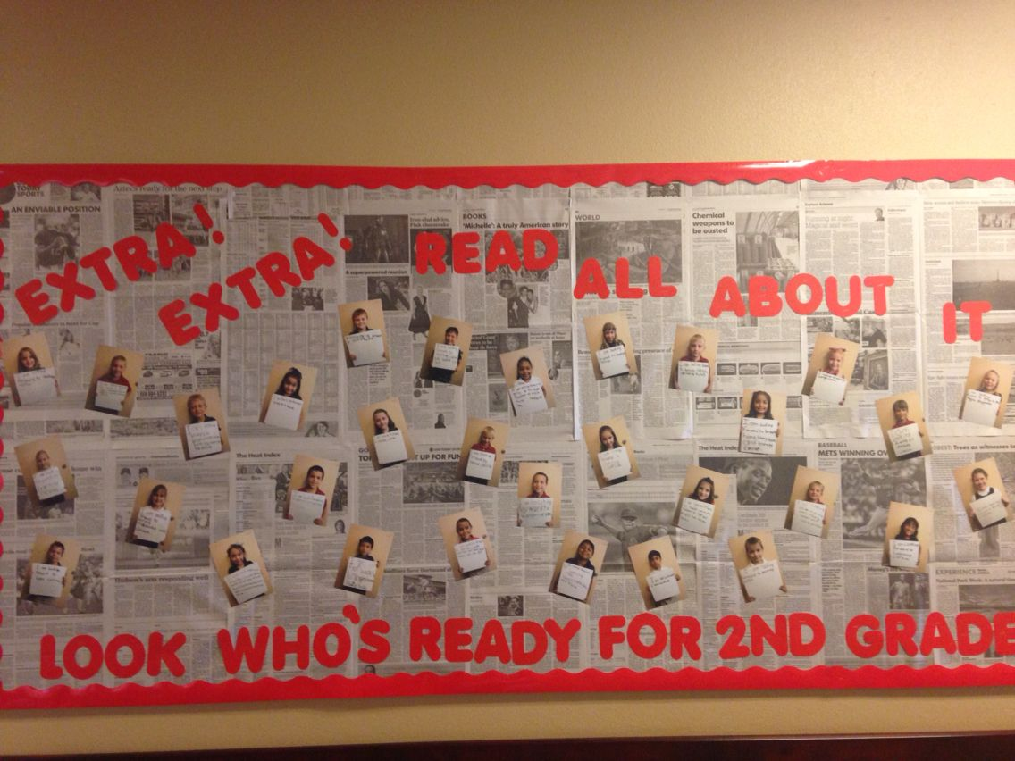 End of the year board