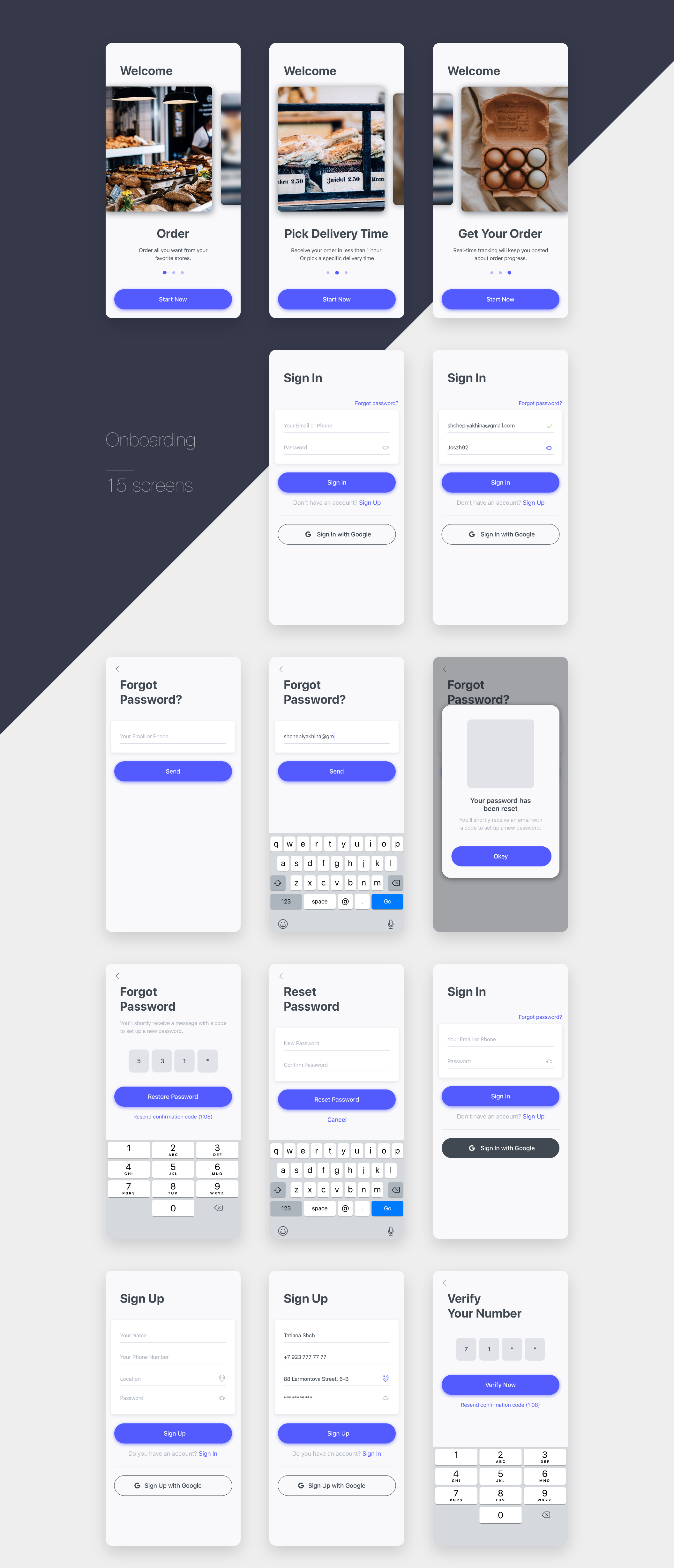 Behance Search Food delivery app, Delivery app, Food app