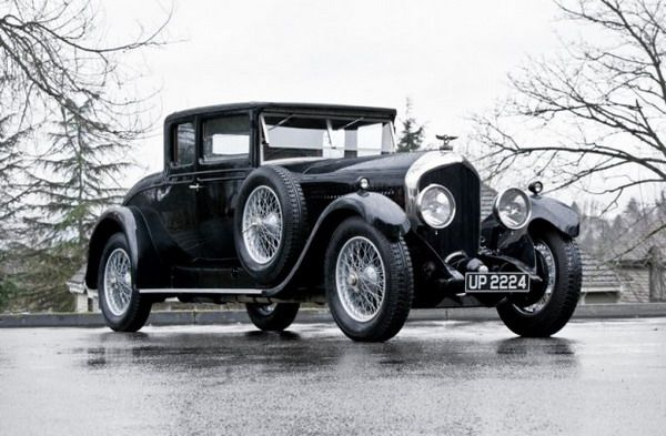 1928 Bentley 6 1/2 Litre Coupe