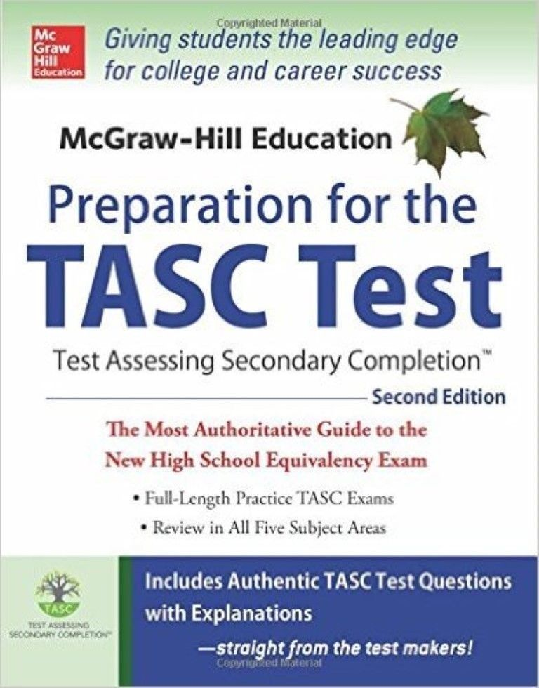 Mcgraw hill education preparation for the tasc test 2nd ed new mcgraw hill education preparation for the tasc test 2nd ed new paperback fandeluxe Choice Image