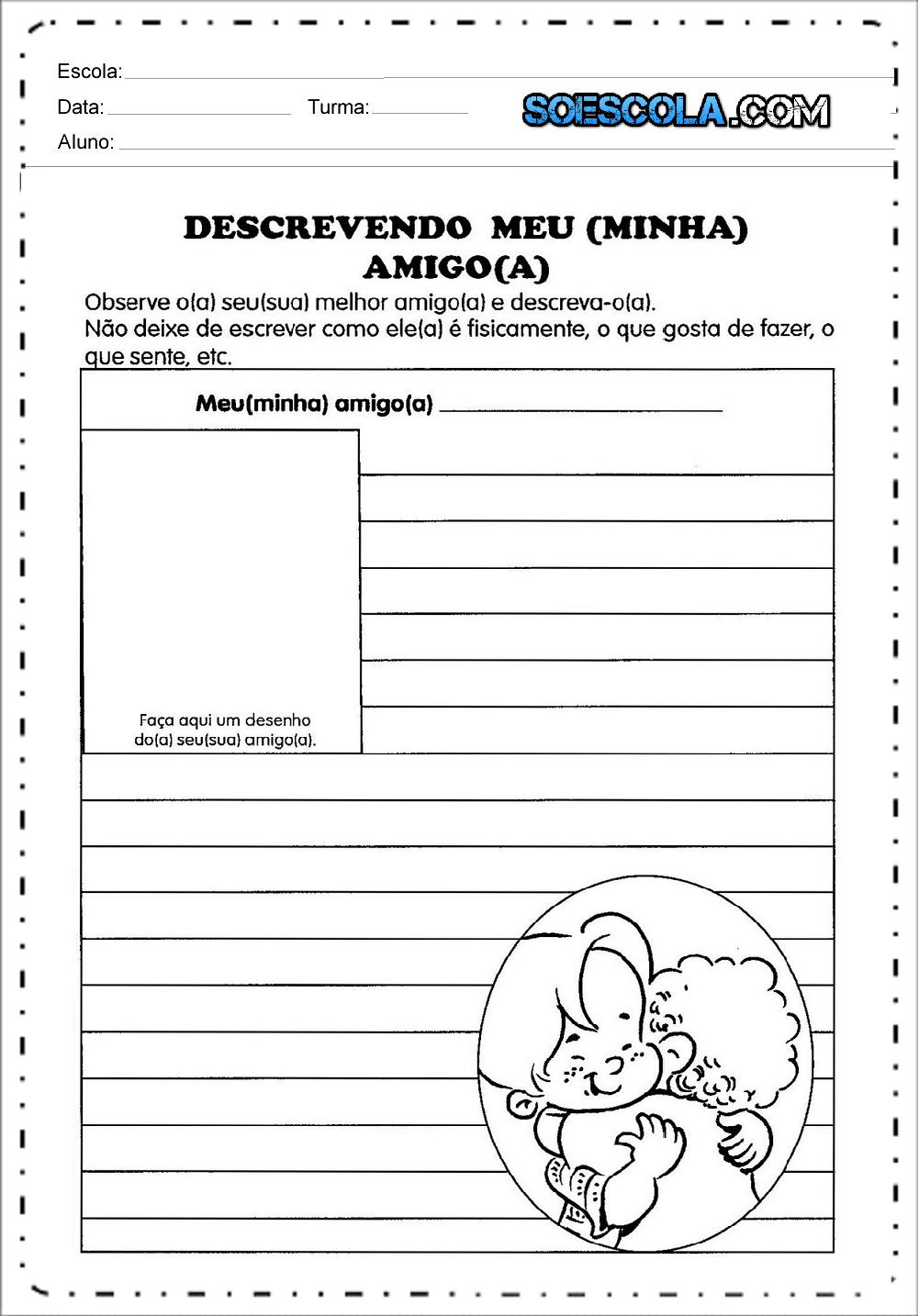 Atividades Para Producao De Texto Na Alfabetizacao Para Imprimir