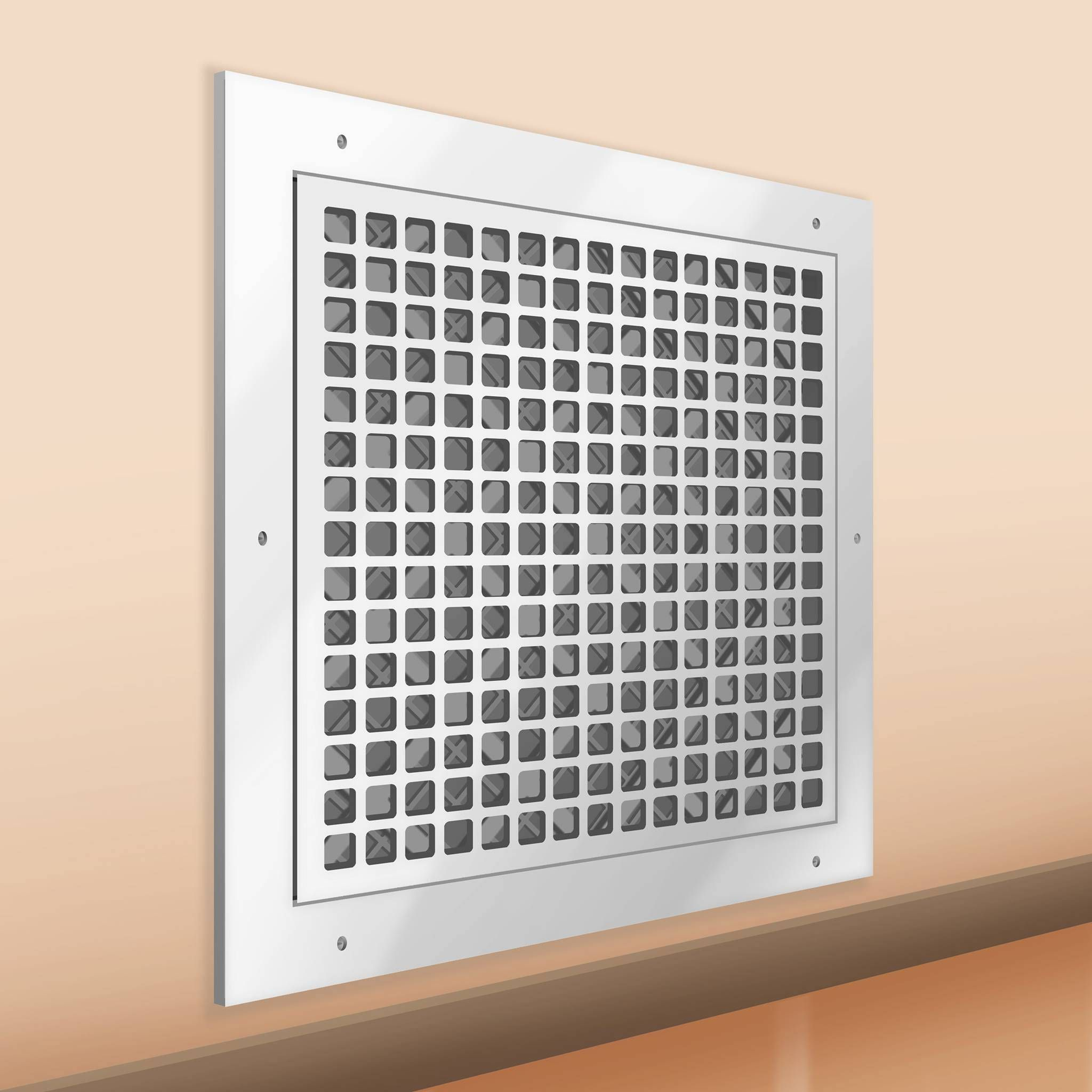 Decorative Resin Air Return Filter Grille Wall vent